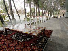 Tea House with Tapchan (Jizzakh, Uzbekistan) by <b>laurac5</b> ( a Panoramio image )