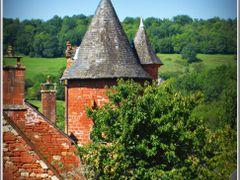 """Collonges-la-Rouge , Limousin,France, """"BEAUX VILLAGES DE FRANCE"""" by <b>© FranciscoGC</b> ( a Panoramio image )"""