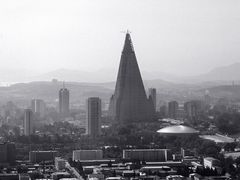 Pyongyang City View with Ryugyong Hotel Hull by <b>zerega</b> ( a Panoramio image )