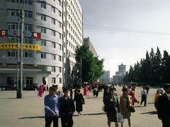 Street Scene near Pyongyang Railway Station by <b>zerega</b> ( a Panoramio image )