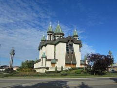 St. Mary`s Ukrainian Catholic Church on Cawthra Rd , Mississauga by <b>JLourenco</b> ( a Panoramio image )