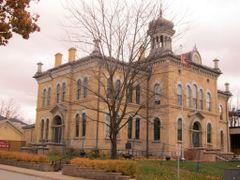 Peel Heritage Building, Brampton by <b>JLourenco</b> ( a Panoramio image )