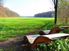 Ruhebanke am Hirschpark, Nordkirchen by <b>Willi Frerich</b> ( a Panoramio image )