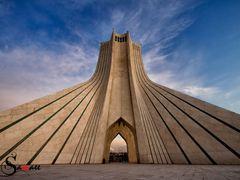Azadi Tower by <b>Samaee</b> ( a Panoramio image )