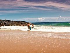 Lumahai Beach by <b>MartyLeeB</b> ( a Panoramio image )