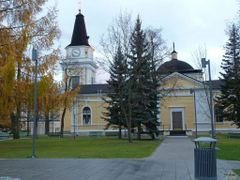 Tampere old Church 1824 by <b>P i a</b> ( a Panoramio image )
