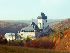 Czech Republic - Karlstejn Castle - Autumn in Castle Holy Roman  by <b>Roman Zazvorka</b> ( a Panoramio image )