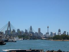 Anzac Bridge from Rozelle Bay by <b>Yukiko8888</b> ( a Panoramio image )