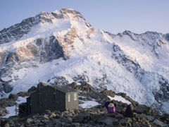 View from Mueller Hut 1992 by <b>KevinNoles</b> ( a Panoramio image )