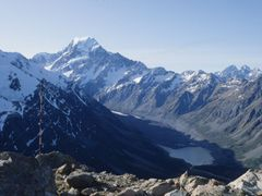 Mount Cook from Mueller Hut by <b>KevinNoles</b> ( a Panoramio image )