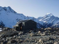 Mueller Hut 1992 by <b>KevinNoles</b> ( a Panoramio image )