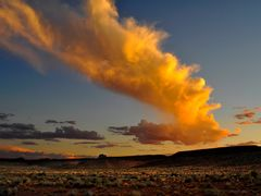 Sunset near Mexican Hat by <b>pcologo</b> ( a Panoramio image )