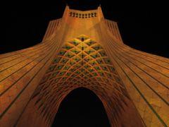 Iran - Tehran - Under Azadi tower  by <b>Alireza Javaheri</b> ( a Panoramio image )