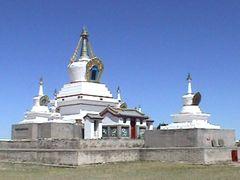 Kharkhorin - Erdene Zuu Monastery 2 by <b>Paolo Grassi</b> ( a Panoramio image )