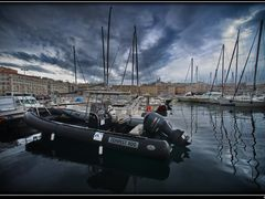 Vieux Port. Marseille, France. by <b>AlSanin</b> ( a Panoramio image )