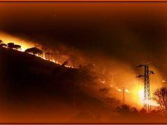 FUEGO!!! A warm evening of november by <b>Sergio Bagna</b> ( a Panoramio image )