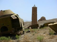 Minaret in Ghazni by <b>davidadamex</b> ( a Panoramio image )
