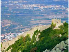 Castelo dos Mouros by <b>Angel Gonzalez</b> ( a Panoramio image )