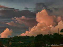Puesta de sol, Naranjo, Costa Rica by <b>Melsen Felipe</b> ( a Panoramio image )