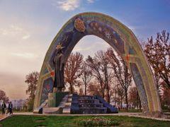 Rudaki Statue - Rudaki Garden, Dushanbe, Tajikistan by <b>Hamed Ansari</b> ( a Panoramio image )