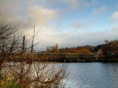 most v Zadni Trebani /  the bridge over the river Berounka by <b>Premysl</b> ( a Panoramio image )