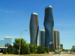 Twisted Condos in Mississauga by <b>RinoBarone</b> ( a Panoramio image )