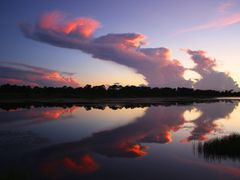 sunset cloud by <b>cliffordc</b> ( a Panoramio image )