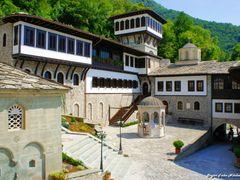 Saint Jovan Bigorski Monastery by <b>Стојан Тоше Николовски</b> ( a Panoramio image )