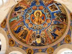 "Frescoes of ""Jesus Christ, The Son of God, and the Saints"", Fres by <b>Стојан Тоше Николовски</b> ( a Panoramio image )"