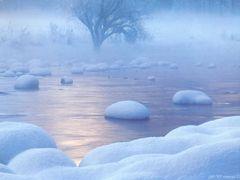 "Winterwald beim ""Widi"" - a thin sheet of ice  (messi 0 by <b>©polytropos</b> ( a Panoramio image )"