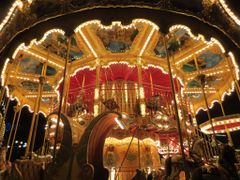 """Carousel of Life"" - Tivoli by Night, Copenhagen, Denmark  (Note by <b>Jan Sognnes</b> ( a Panoramio image )"