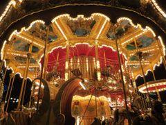 """Carousel of Life"" - Tivoli by Night, Copenhagen, Denmark  (Note by <b>Jan Sognnes</b> ( a Panoramio image )"