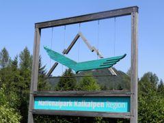 Nationalpark Kalkalpen Logo 2011 by <b>192mscbert</b> ( a Panoramio image )