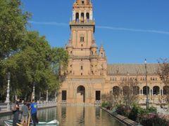 Embarcadero. Plaza de Espana de Sevilla by <b>Angel Madrileno</b> ( a Panoramio image )