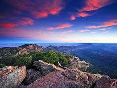 St Mary Peak Sunrise by <b>bill robinson</b> ( a Panoramio image )