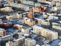 the centrum of vaasa  by <b>aarno isomaki</b> ( a Panoramio image )
