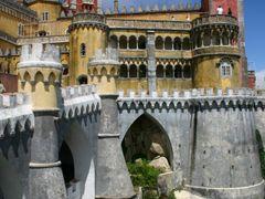 Palacio da Pena  -SINTRA -(PORTUGAL) by <b>yo-rafael</b> ( a Panoramio image )