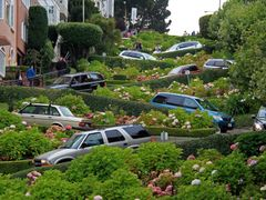 "San Francisco - Russian Hill - Lombard Street - ""What""s Up, Doc? by <b>Carloso</b> ( a Panoramio image )"