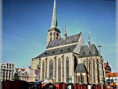Katedrala Sv.Bartolomeje- Plzen by <b>Janista</b> ( a Panoramio image )