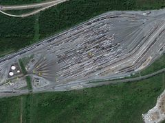 Union Pacific RR Hump Yard, North Little Rock, Arkansas by <b>Geezer Vz</b> ( a Panoramio image )