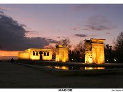 Madrid - Debod by <b>Kamil Macniak</b> ( a Panoramio image )