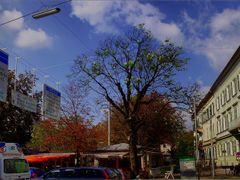 Osterreich Panoramafotos . . .  September in Graz: Fruhling und  by <b>©  Imre Lakat</b> ( a Panoramio image )
