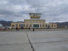 Olgii Airport by <b>motsu</b> ( a Panoramio image )