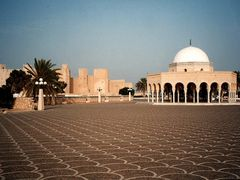 Monastir - Kaaba and Ribat (scanned) - summer 2001 by <b>katarina1953</b> ( a Panoramio image )