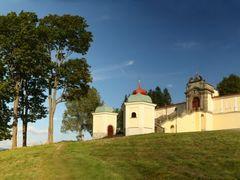 monastery Marienberg -panorama / klaster Hora Matky Bozi by <b>Irena Brozova (CZ)</b> ( a Panoramio image )