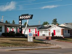 Rocket Motel - Blast from the Past by <b>Gerald C. Vogel</b> ( a Panoramio image )