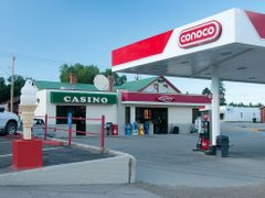 Casino and Gas by <b>Gerald C. Vogel</b> ( a Panoramio image )
