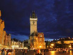 Prague - Old Town Square by <b>petroskala1</b> ( a Panoramio image )