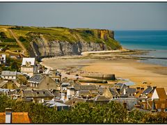 Never Forget The Deads Of D-day - Golden Beach by <b>Angelofruhr</b> ( a Panoramio image )