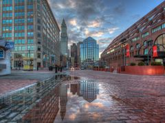 A puddle at Boston by <b>Vath</b> ( a Panoramio image )